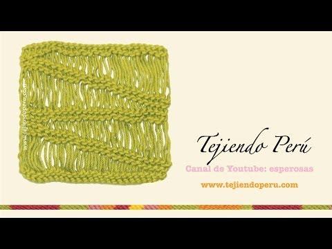 Dos agujas: cómo tejer el punto vainilla (recto y en degradé)