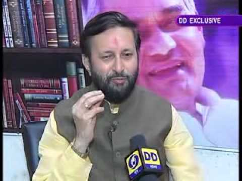 Interview with Prakash Javadekar after being sworn in as MoS (Independent Charge)