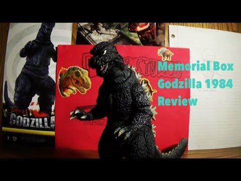 Memorial Box Godzilla 1984 Review ( Re - Edited)