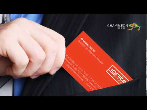 Professional Business Cards - Chameleon Print Group - Australia