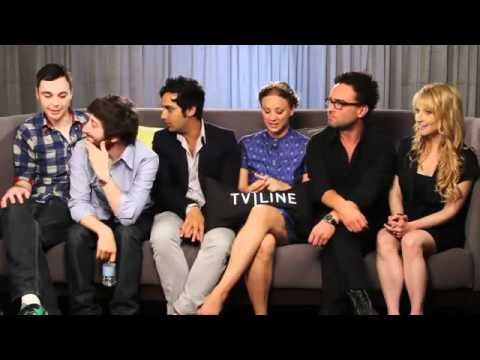 The Big Bang Theory Cast with Ausiello - Comic Con 2011
