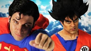 [Epic Rap Battle: Superman vs Goku] Video