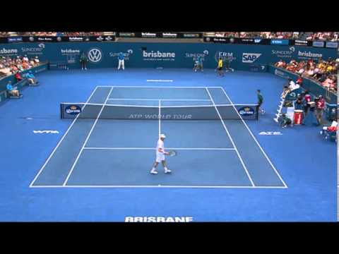 Marinko Matosevic v Sam Querrey - Highlights Men's Singles Round 2: Brisbane International 2014