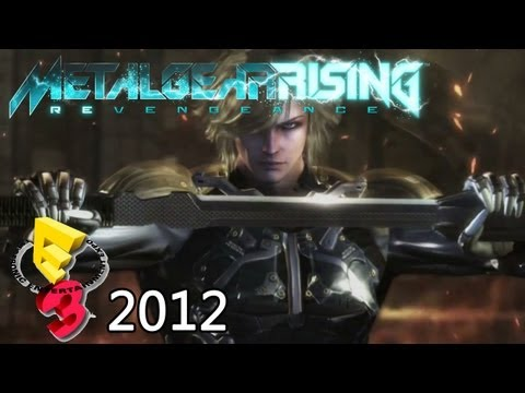 Metal Gear Rising: Revengeance 'E3 2012 Trailer' TRUE-HD QUALITY