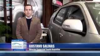 Presentación Toyota Hilux 2015 En La Rural Dossier