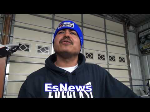 Robert Garcia on ggg vs jacobs EsNews Boxing