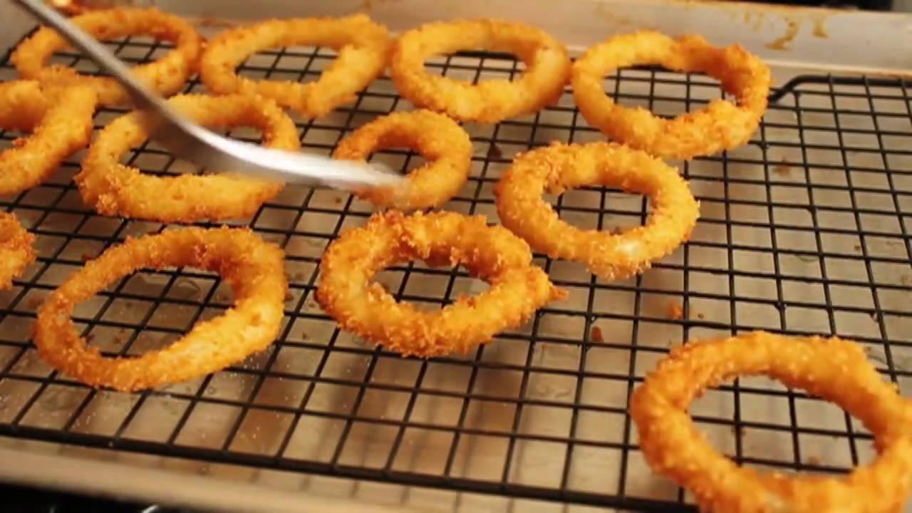 Crispy Onion Rings Recipe - How to Make Crispy Onion Rings - YouTube