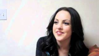 LIZ GILLIES (Victorious) Is A Kissing Veteran!