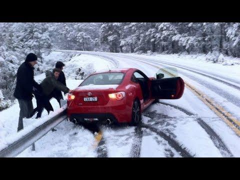 WINTER CAR crash - Snow FAILS compilation ❄