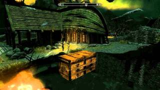 Skyrim Glitch Chests (with Some Of The Best Items