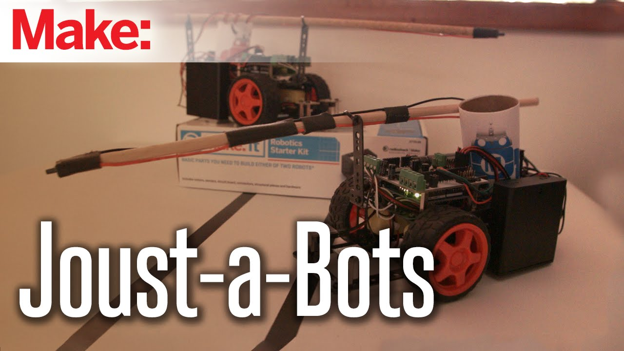 Ready, Set, Joust! Win a Robotics Starter Kit from Make: and RadioShack