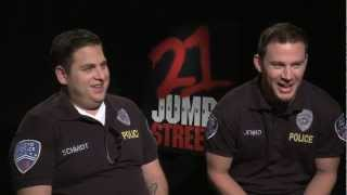 21 JUMP STREET Interviews: Channing Tatum, Jonah Hill, Ice