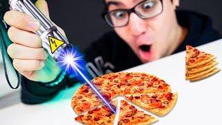 É POSSÍVEL CORTAR PIZZA COM LASER ?