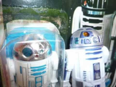 R2-D2 RESEALED ONTO KENNER 12 BACK