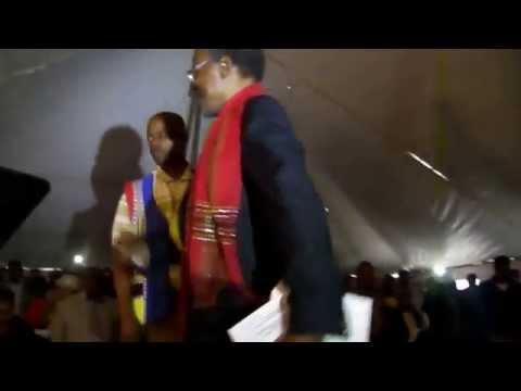 Prince Mangosuthu Buthelezi at Nseleni