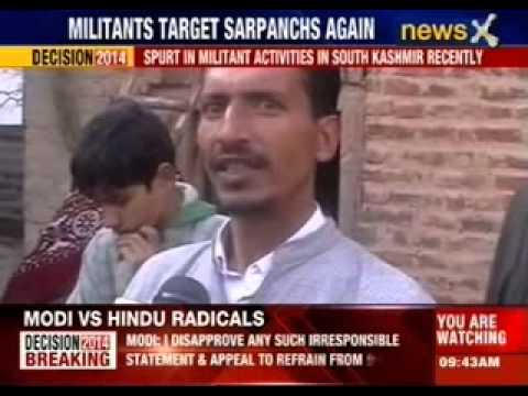 Jammu and Kashmir: Militants target sarpanch again