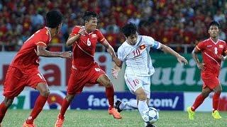 Mãn nhãn cơn mưa bàn thắng của U19 Việt Nam   VTC