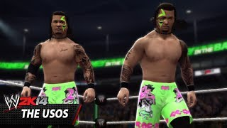 WWE 2K14 Community Showcase: The Usos (Xbox 360)