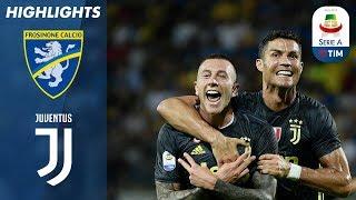 23/09/2018 - Campionato di Serie A - Frosinone-Juventus 0-2, gli highlights