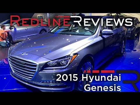 2015 Hyundai Genesis - 2014 North American International Auto Show