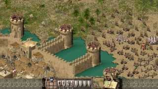 Stronghold Crusader - Multiplayer 1vs1 | Deathmatch