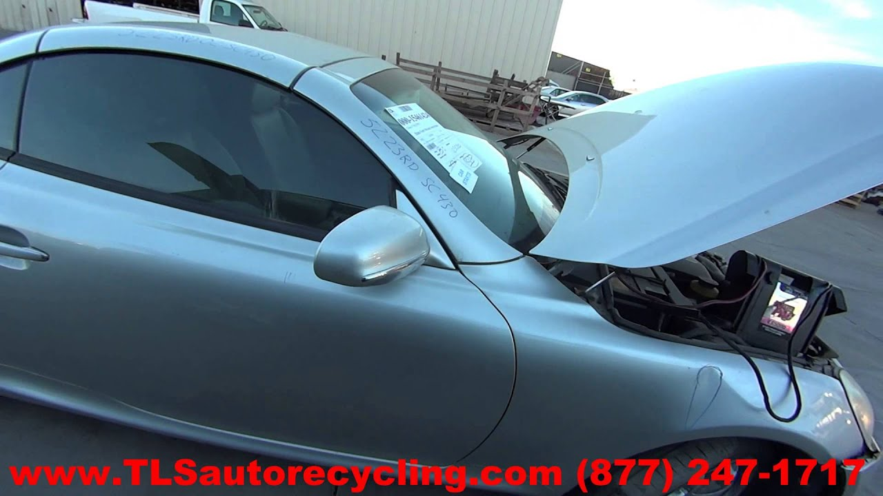parting out 2002 lexus sc 430 stock 5223rd tls auto recycling 2002 lexus sc 430