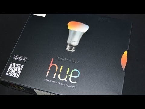 Philips Hue Wireless LED Lighting: Unboxing & Review