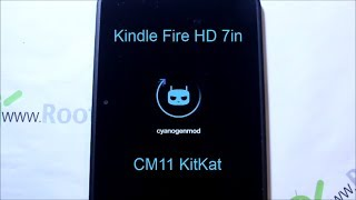 How To Install KitKat CM11 On The Kindle Fire HD 7in