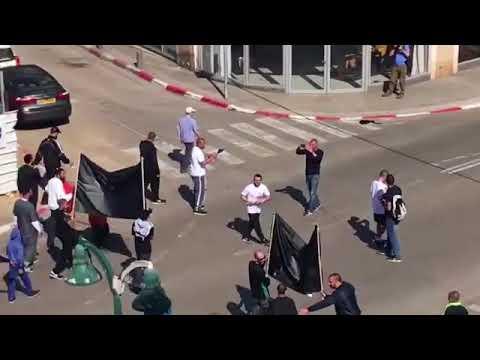 تظاهرة في يافا ضد عنصرية شرطة الاحتلال