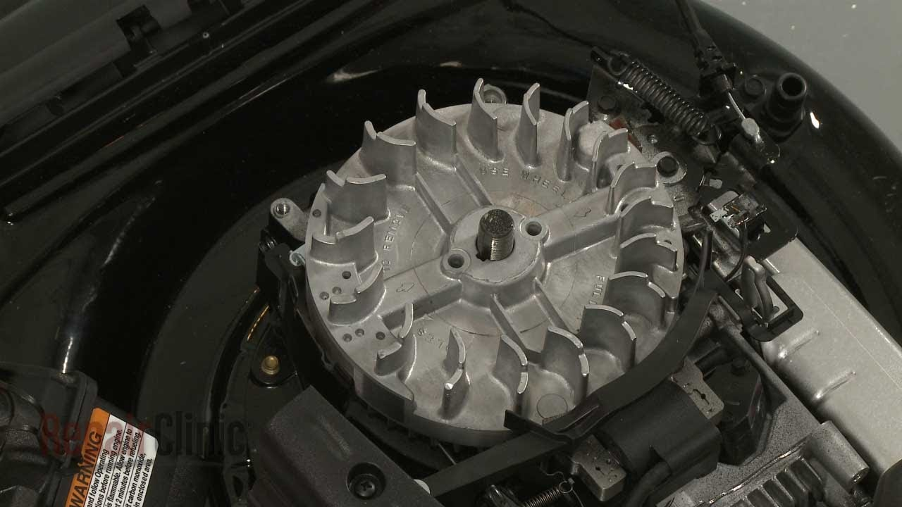 Lawn Mower Engine Flywheel Replacement Briggs Amp Stratton