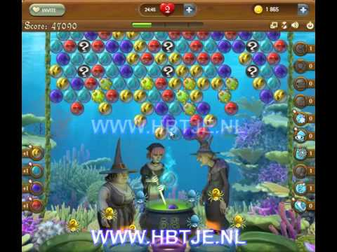 Bubble Witch Saga level 165