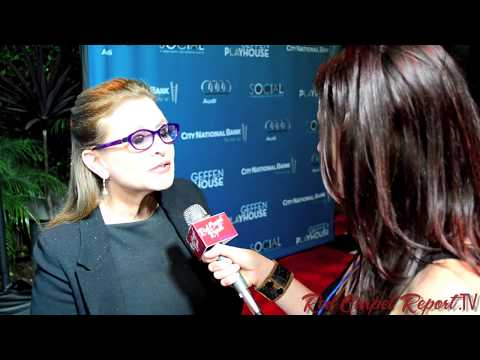Carrie Fisher at #BackstageAtTheGeffen 12th Annual Fundraiser @CarrieFFisher