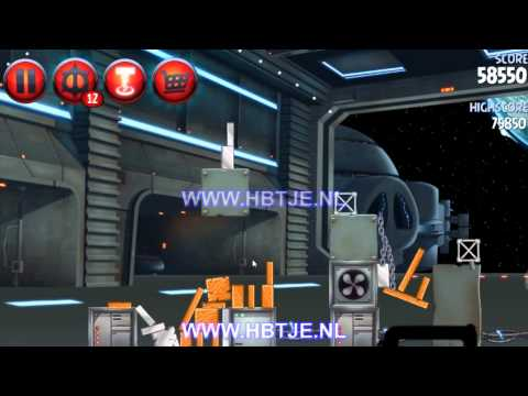 Angry Birds Star Wars 2 Naboo Invasion p1-10 3 stars
