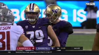 2017 Apple Cup | #13 Washington State at #17 Washington