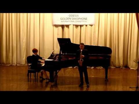 Golden Saxophone 2015 – Mark Mironchuk – P Itturalde Pequena Czarda