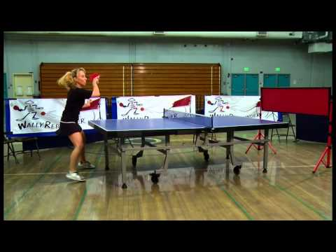 Play Table Tennis with Wally Rebounder's Return Board