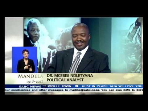 Mcebisi Ndletyana on Obama and Castro handshake