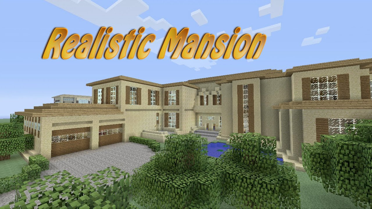 how to build the best mansion in minecraft