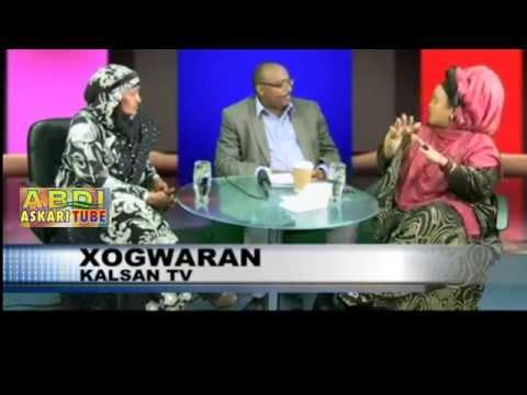 Haween Dood Kulul Kugalay Live tv oo Gacan Kahadal Iskubadalay - Somali Comedy show