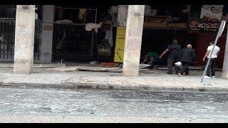 بعد انفجار مصبنة بالدارالبيضاء..شوفو أشنو وقع لدار فوق منها (فيديو) |