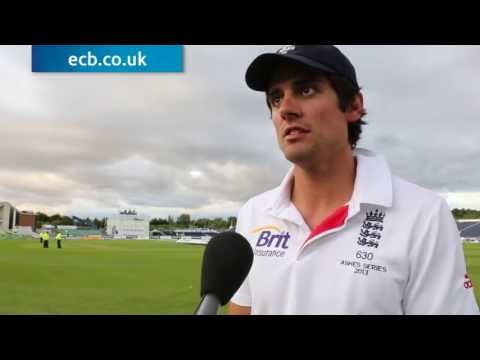 Ashes Cricket - We're going for 4-0 says Alastair Cook