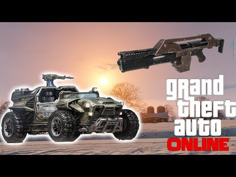 GTA 5 Online : Military Dune Buggy, Pulse Rifle, Rare Animals - DLC Wishlist Patch 1.12