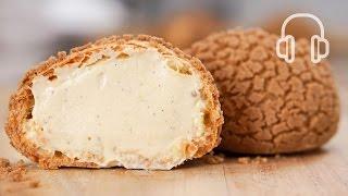 シュークリーム | クッキーシューの作り方