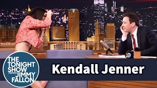 Jimmy Fallon Models for a Kendall Jenner Photo Shoot