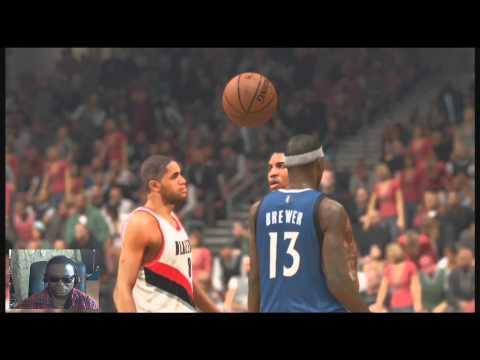 NBA 2K14 PS4 - The Portland Trail Blazers Vs (My Gm) Timberwolves Game 43
