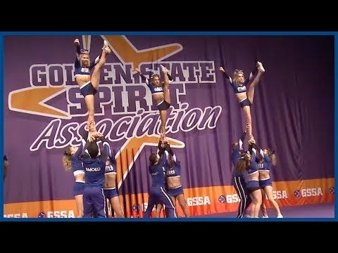 California All-Stars SMOED GSSA Competition Full Performance! - Cheer Extras
