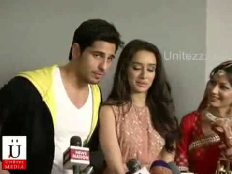 Sidharth Malhotra And Shraddha Kapoor On Sets Of Kumkum Bhagya