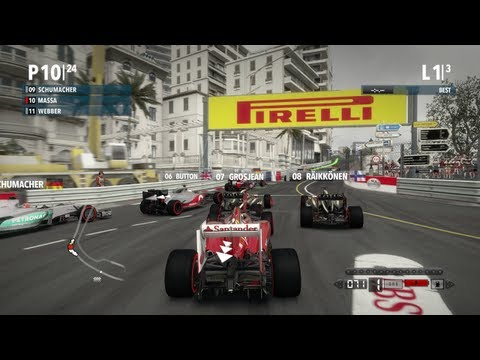 F1 2012 PC Gameplay
