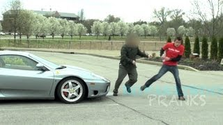 Attacked by pissed off Ferrari owner