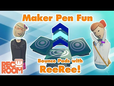 Maker Pen Fun- Bounce Pads with ReeRee!